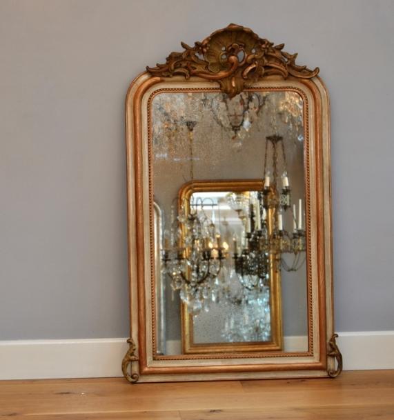 Antieke spiegel  u2013 Moor furniture